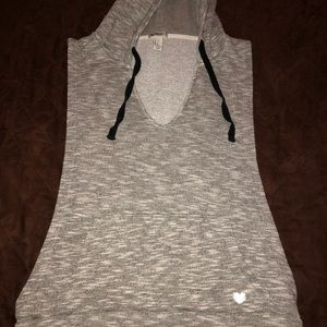 Tops - Forever 21 hooded tank top